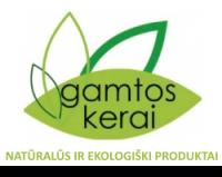 GAMTOS KERAI, parduotuvė - ekologiški produktai Klaipėdoje, VYGANTO MAŽUČIO INDIVIDUALI VEIKLA