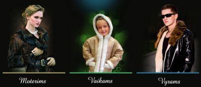 Lietuviški originalūs, kokybiški ir patogūs kailiniai