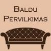 BALDŲ PERVILKIMAS - minkštų baldų remontas