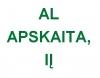 AL APSKAITA, IĮ