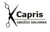 CAPRIS, grožio salonas, UAB KAPRIS LT -vyrų, moterų, vaikų kirpimas, kirpykla Justiniškėse