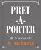 PRET A PORTER parduotuvė - lietuvių dizainerių kūrėjų darbai Klaipėdoje