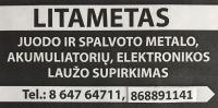 LITAMETAS, UAB - perka metalo laužą
