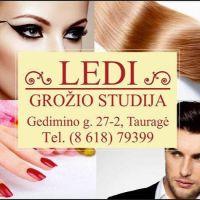 LEDI, grožio studija - permanentinis makiažas, makiažas, kosmetologė, meninės fotosesijos, mokymai grožio specialistams Tauragė