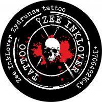 ZEE INKLOVER ŽYDRŪNAS TATTOO - tatuiruočių studija Panevėžyje