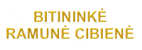 BITININKĖ RAMUNĖ CIBIENĖ