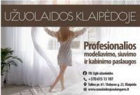 Užuolaidų salonas - užuolaidos, užuolaidiniai audiniai, karnizai, bėgeliai Klaipėdos centre