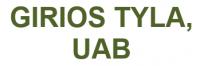 GIRIOS TYLA, UAB - miško darbai, prekyba mediena