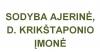 D. KRIKŠTAPONIO ĮMONĖ